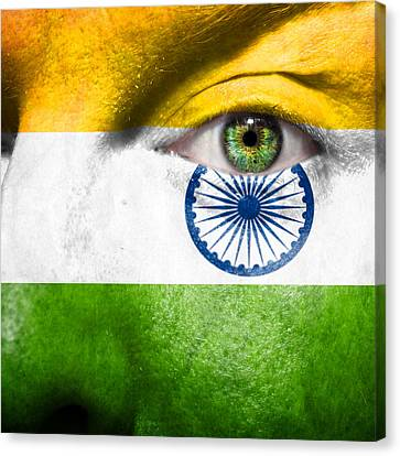 Go India Canvas Print by Semmick Photo