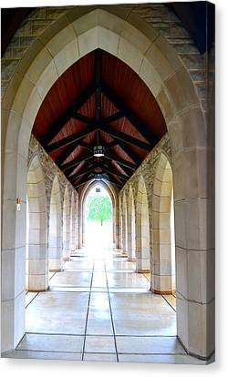 Canvas Print featuring the photograph Go Into The Light by Deena Stoddard