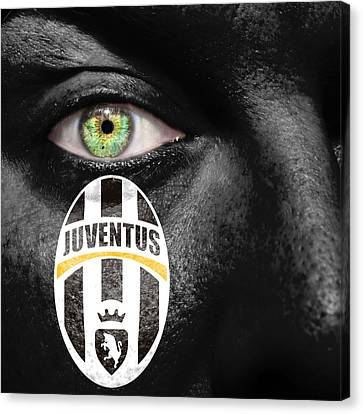 Go Juventus Canvas Print by Semmick Photo