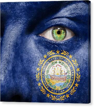 Go New Hampshire Canvas Print by Semmick Photo