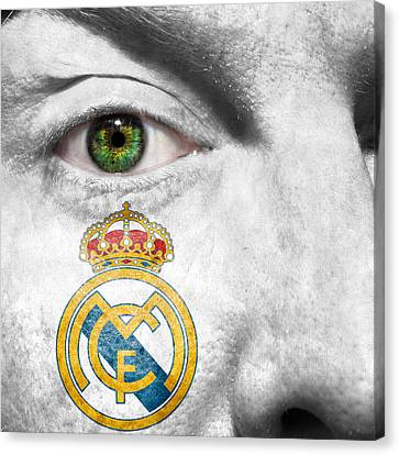 Go Real Madrid Canvas Print by Semmick Photo