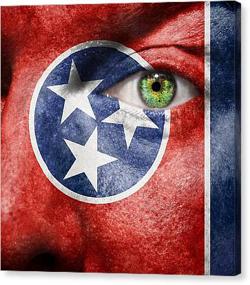 Go Tennessee Canvas Print