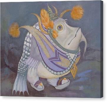 Canvas Print featuring the painting Go Thai by Marina Gnetetsky