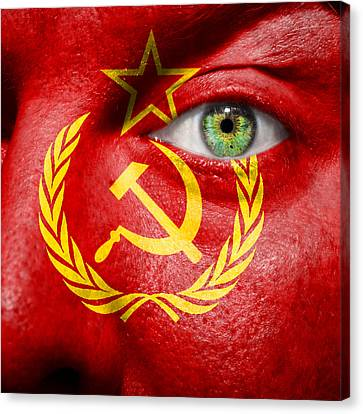 Go Ussr Canvas Print by Semmick Photo