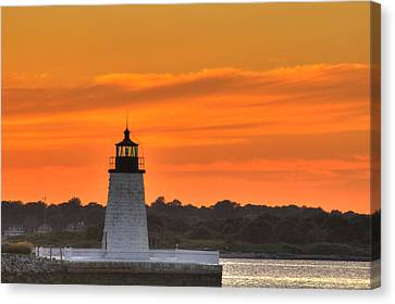 Goat Island Light Canvas Print