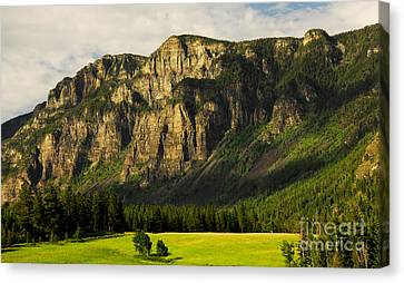 Canvas Print featuring the photograph Goat Mountain by Sam Rosen