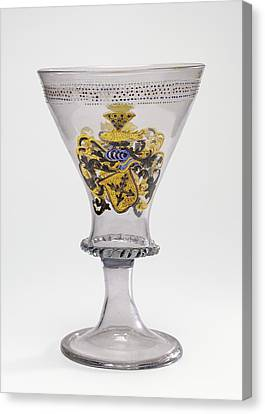 Goblet With The Arms Of Liechtenberg Unknown Façon De Canvas Print