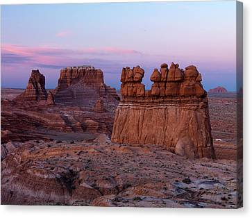 Goblin Valley 6 Canvas Print by Leland D Howard
