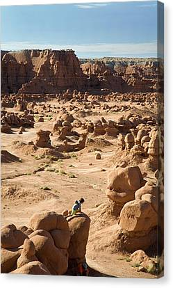 Goblin Valley State Park Canvas Print by Jim West