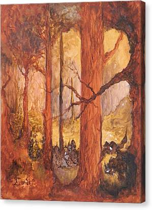 Goblins' Glen Canvas Print