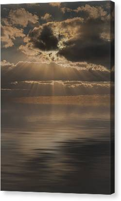 God At Work Canvas Print by Andy Astbury