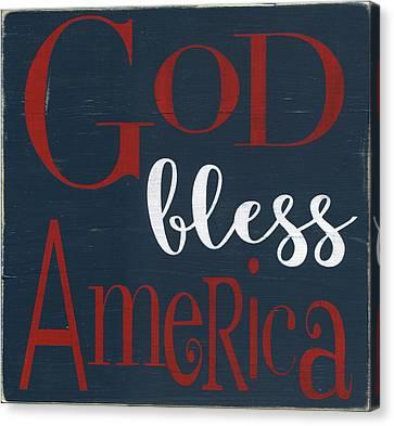 God Bless America Canvas Print by Alli Rogosich
