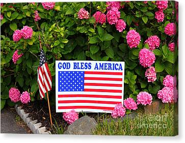 God Bless America Canvas Print by James Brunker