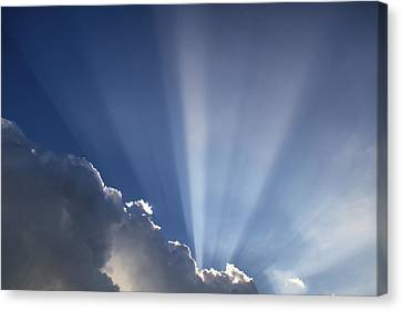 God Rays Canvas Print
