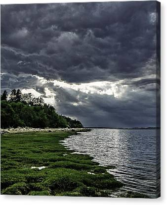 God Rays Canvas Print by Keith Woodbury