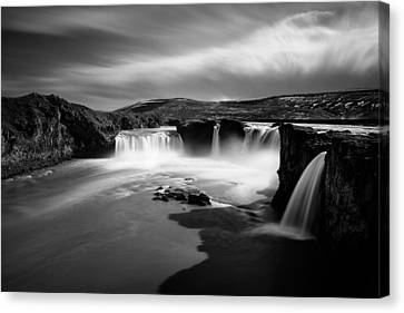 Godafoss Canvas Print by Dave Bowman