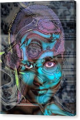 Canvas Print featuring the photograph Goddess Of Love And Confusion by Richard Thomas