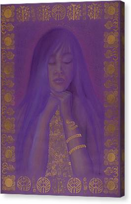 Goddess Of Regeneration Canvas Print by Diana Perfect