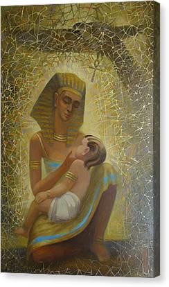 Goddess Canvas Print by Valentina Kondrashova