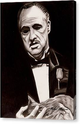 Godfather Canvas Print by Michael Mestas