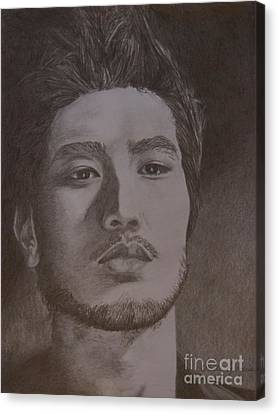 Godfrey Gao Canvas Print by Lorelle Gromus