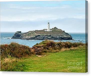 Godrevy Lighthouse Canvas Print
