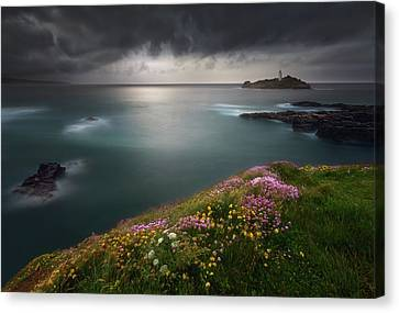 Godrevy Point... Canvas Print