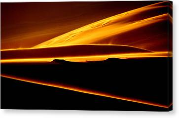 God's Light.. Canvas Print by Al  Swasey