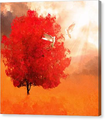 God's Love Canvas Print