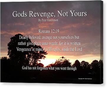 Gods Revenge Canvas Print