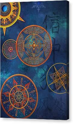 Gods Shelter Canvas Print