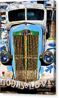 Gods Truck Canvas Print by Jim West