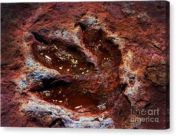 Godzilla Was Here In  Arizona Canvas Print by Paul W Faust -  Impressions of Light
