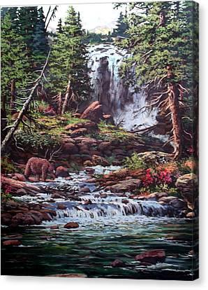 Goin Fishing Canvas Print by W  Scott Fenton