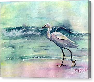Going Home Canvas Print by Maria's Watercolor