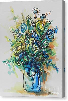 Going In Circles  Canvas Print by Chrisann Ellis