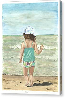 Going Canvas Print by Janis  Cornish