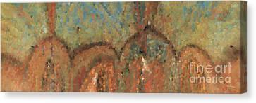 Going Through Spiritual Confusion. Giant Canvas Art Canvas Print