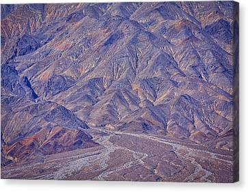 Going To Titus Canyon Canvas Print by Stuart Litoff