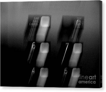 Canvas Print featuring the photograph Going Up by Lin Haring