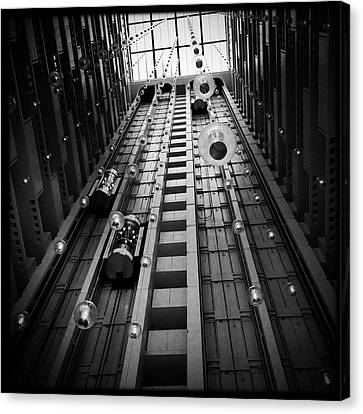 Going Up? Canvas Print