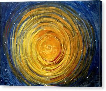 Going Within Canvas Print by Janelle Schneider
