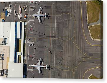 Gold Coast Airport Ool Canvas Print by Brett Price