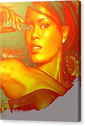 Gold Digger 1 Canvas Print