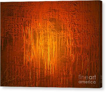 Gold Foil Canvas Print by Judith  Flacke
