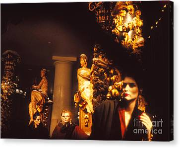 Canvas Print featuring the photograph Gold Mars by Steven Macanka