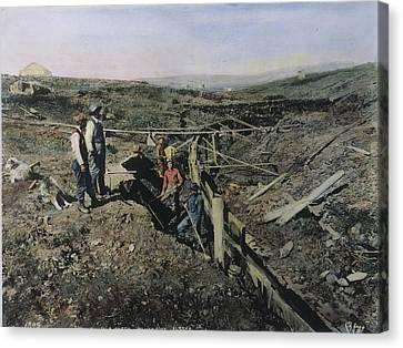 Gold Prospectors, C1897 Canvas Print by Granger