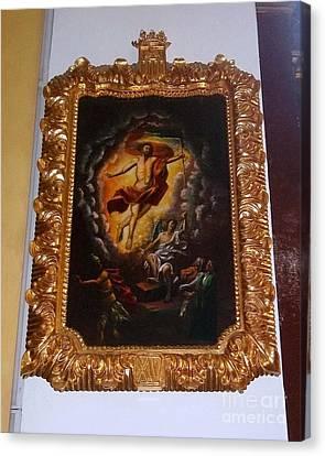 Gold Remains Canvas Print by Vladimir Berrio Lemm