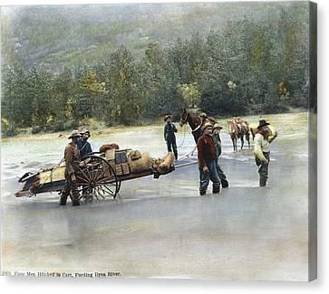 Gold Rush Klondike Canvas Print by Granger