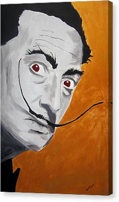 Golden Age Of Dali Canvas Print by Dan Twyman